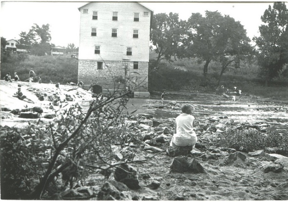 Old Saw Mill in the Hay day